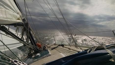 sailing on the Kuivato